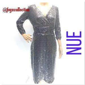 Elegant sequins dress Bue zb-20